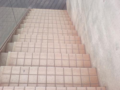 階段もこの通り