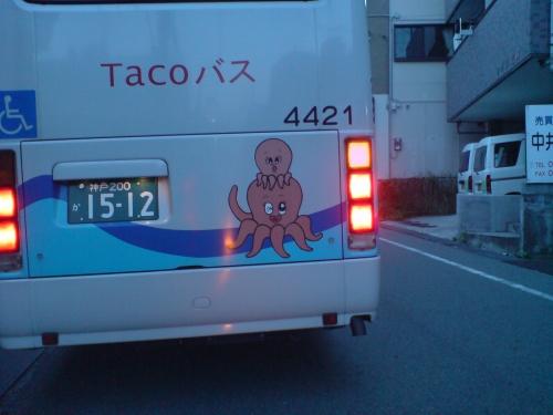 Tacoバスバックショット