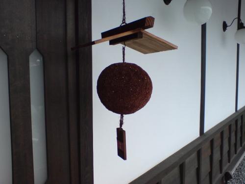 小さな杉玉は造り酒屋のイメージ?