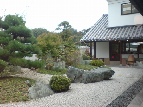 観賞用の庭園