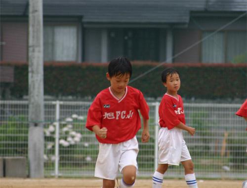 長男サッカー