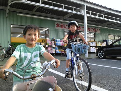 ディスカウントスーパージャパンへサイクリング。