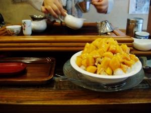 三徳堂 マンゴーかき氷