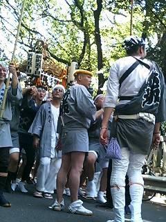 今年の赤坂氷川神社 祭礼