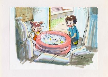 みどり東京・地球温暖化防止キャンペーンアニメ企画書(桜映画社)提出ボード No.2