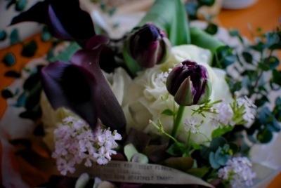 お花ありがとう