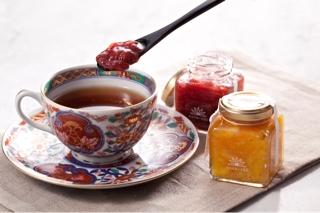 コンフィチュール+紅茶
