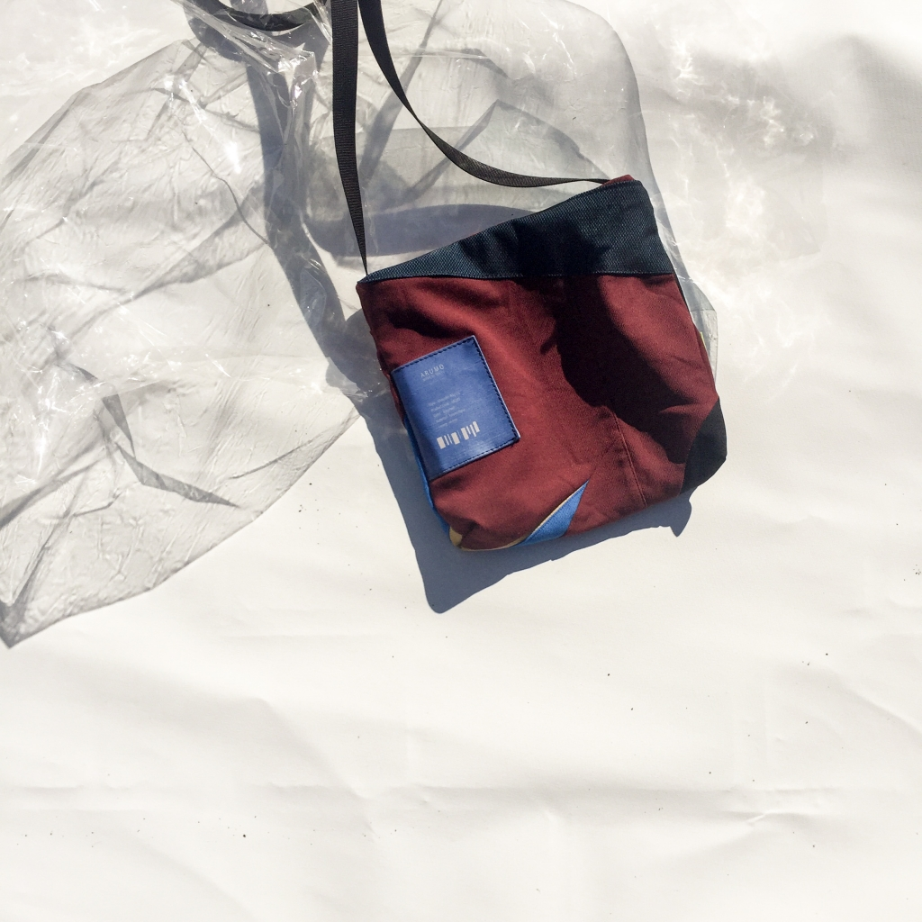 ARUMO リメイクサコッシュバッグ