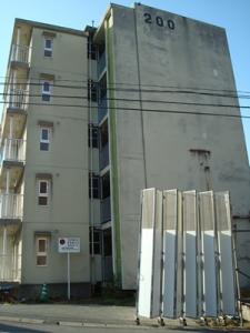市崎の県営住宅も取り壊しです