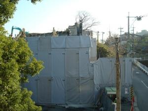 TNCテレビ西日本旧社屋本日の現場写真その2