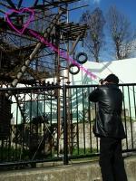 福岡市動植物園 見つめ合う二人・・・