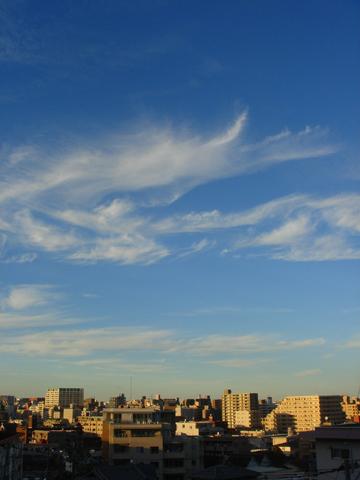 2010年11月3日の空