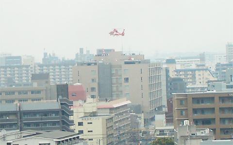 福岡市消防局消防ヘリ