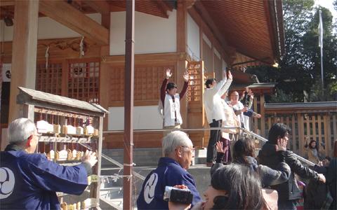 平成二十五年高宮八幡宮節分祭