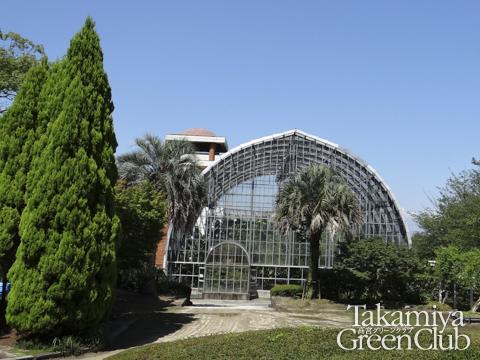 花畑園芸公園の温室