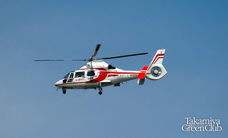 福岡市消防局『ほおじろ』 アエロスパシアルAS365N2 A119F