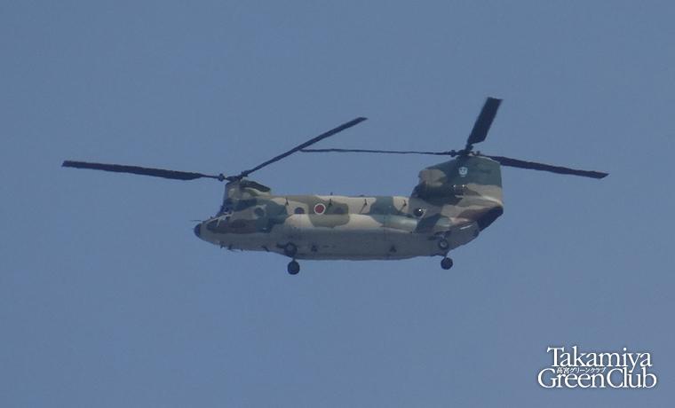 航空自衛隊チヌーク ボーイング・バートル社 CH-47