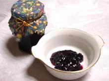 那須 森の手作りジャムのご紹介 ブルーベリージャム♪(手作りジャム、手作りくんせいを製造販売中、ショコラティエ・サンク那須店)