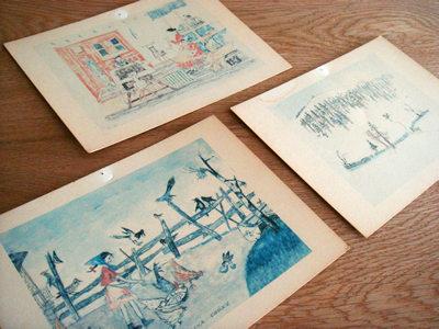 アロワ・カリジェのポストカード