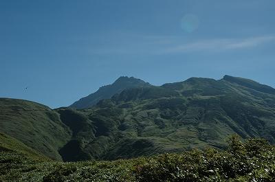 千畳ヶ原からの鳥海山
