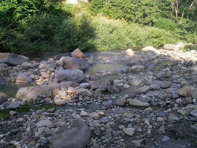 川原の湯ッ子での朝湯