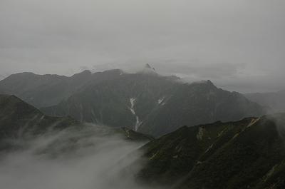 雲間のアルプス1