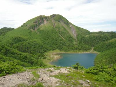 五色沼と白根山