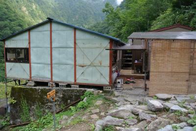 阿曽原温泉小屋