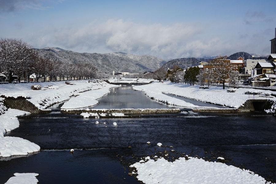 2015京都上賀茂雪景色01