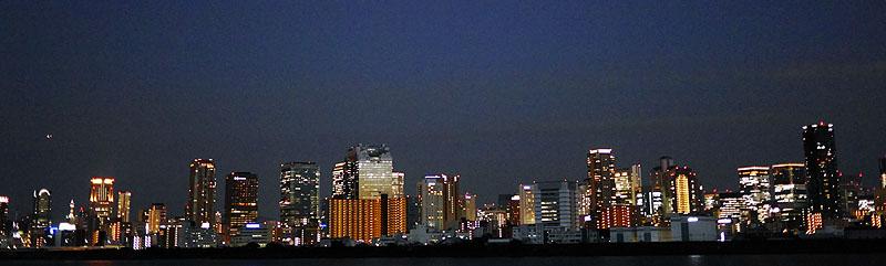 大阪梅田夜景
