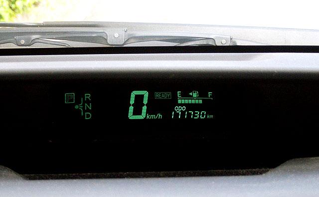 20型プリウス距離計