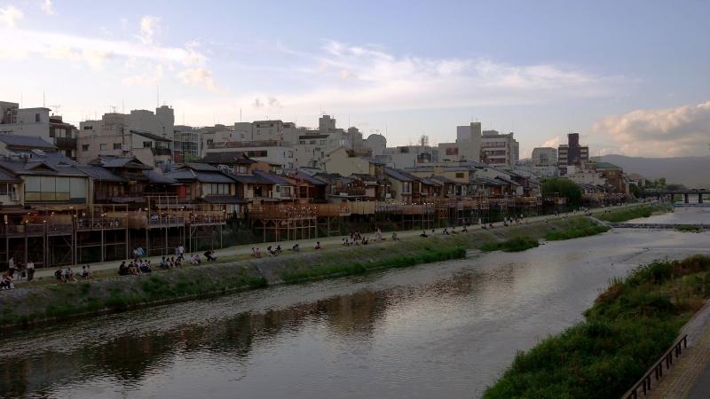京都鴨川川床