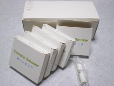 電子タバコSimple Smoker(シンプルスモーカー)カートリッジ5種の味