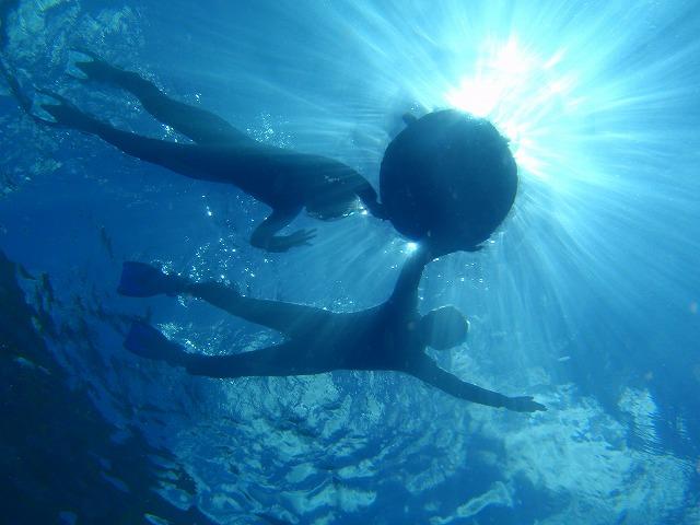 沖縄で初めての体験ダイビング