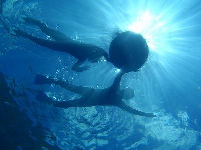 沖縄で体験ダイビング