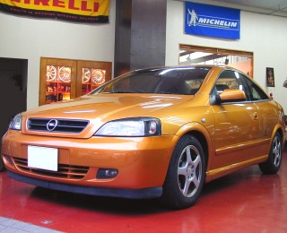 OPEL ASTRA クーペ