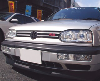 VW GOLF3 ヘッドライト イカリング