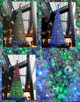 ハーバーランドのクリスマスツリー