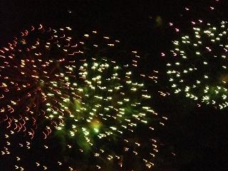 花火はよかった!沖縄で花火これってサイコー!