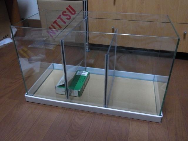 自作オーバーフロー濾過システム!60cm水槽改造して濾過槽を自作する