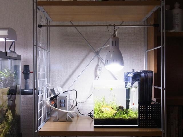 クリップライトで吊り下げ照明を自作