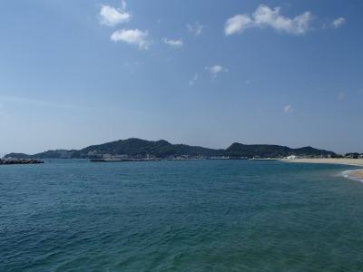 新和歌浦1 岡徳楼の海