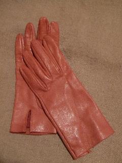 demi モーブピンク手袋
