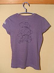 gap10周年 茄子紺Tシャツ