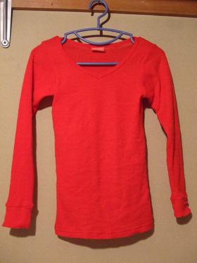 everwarm Vネックシャツ