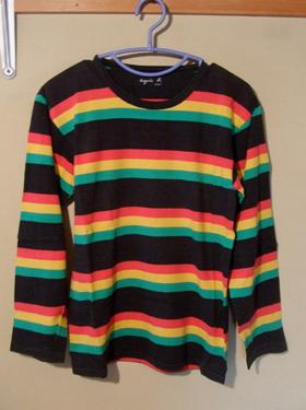 agnes.b ラスタカラー Tシャツ