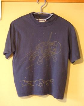 TINTIN 紺Tシャツ