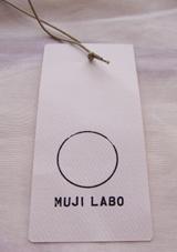 MUJI LABO 赤カーディガン2