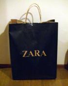 ZARA 黒スーツ2