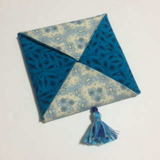 ハート 折り紙 : 折り紙コースター作り方簡単 : blue-blossom.jugem.jp